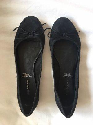 5th Avenue Slingback ballerina's zwart