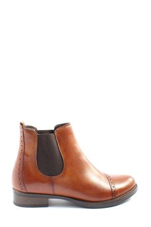 5th Avenue Chelsea Boots braun-schwarz Casual-Look