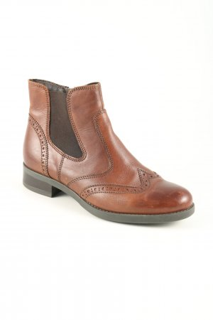 5th Avenue Chelsea Boots brown casual look