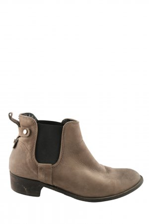 5th Avenue Chelsea Boots braun-schwarz Casual-Look