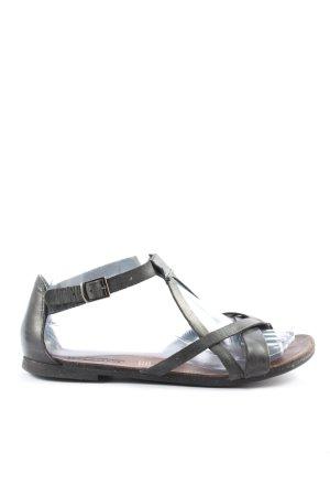 5th Avenue Dianette sandalen zwart casual uitstraling