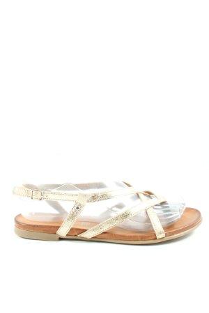 5th Avenue Sandalo Dianette oro stile casual