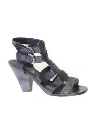 5th Avenue Sandals black leather