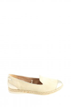 5th Avenue Espadrilles-Sandalen creme Casual-Look