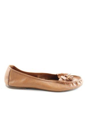 5th Avenue faltbare Ballerinas hellorange Casual-Look