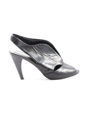 5th Avenue Hoge hakken sandalen zwart casual uitstraling