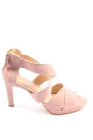 5th Avenue High Heel Sandaletten pink Casual-Look