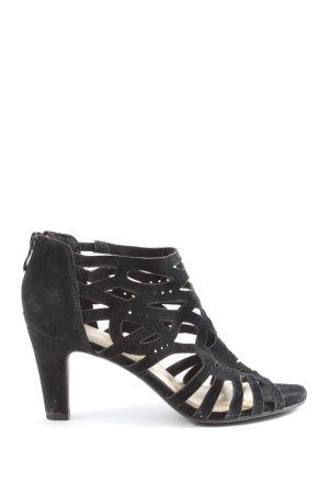 5th Avenue High Heel Sandaletten schwarz Elegant