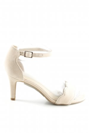 5th Avenue High Heel Sandal natural white casual look