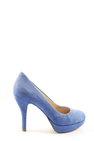 5th Avenue High Heels blau Business-Look