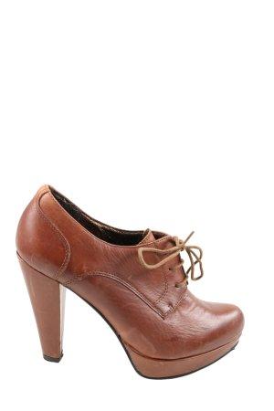 5th Avenue High Heels braun Business-Look