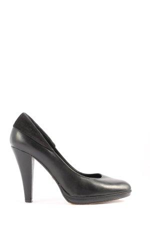 5th Avenue High Heels schwarz Business-Look