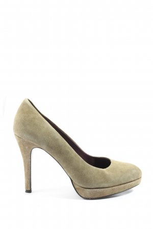 5th Avenue Hochfront-Pumps creme Casual-Look