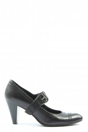 5th Avenue High-Front Pumps black casual look