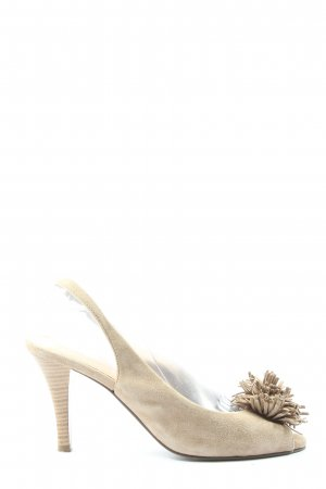 5th Avenue Slingback pumps wolwit casual uitstraling
