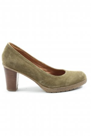 5th Avenue High-Front Pumps khaki-brown casual look