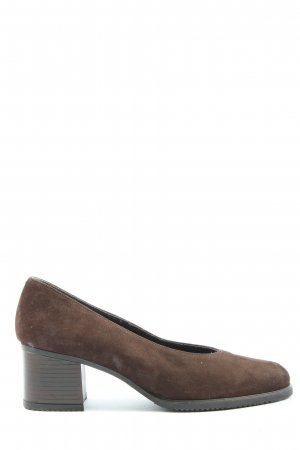 5th Avenue High-Front Pumps brown casual look