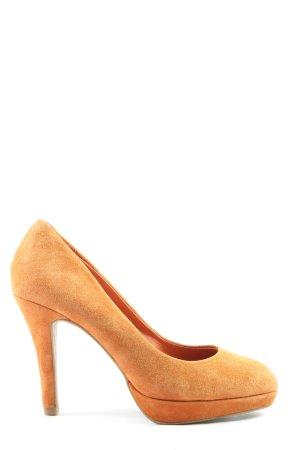 5th Avenue Talons hauts orange clair élégant