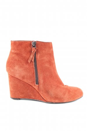 5th Avenue Wedge Booties light orange business style