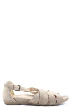5th Avenue Sandalias cómodas crema look casual