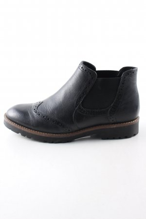 5th Avenue Botas bajas negro estilo «business»