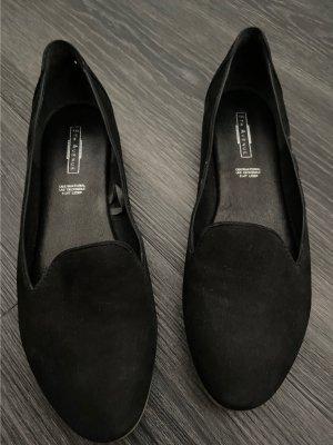 5th Avenue Mocassins noir cuir