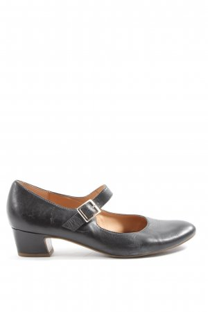 5th Avenue Mary Jane ballerina's zwart-zilver casual uitstraling