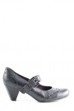 5th Avenue Mary Janes black casual look