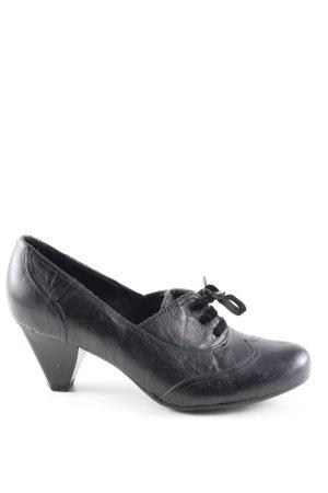 5th Avenue Scarpa Mary Jane nero stile casual