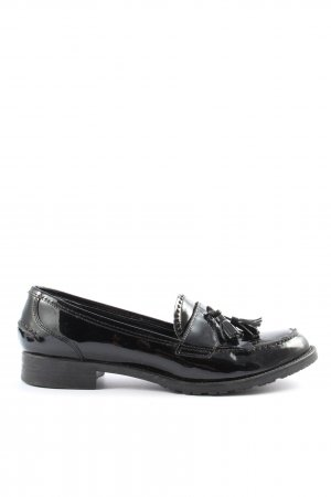 5th Avenue Moccasins black casual look