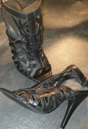 5th Avenue Peep Toe High Heels