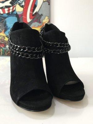 5th Avenue Peep Toe laarsjes zwart