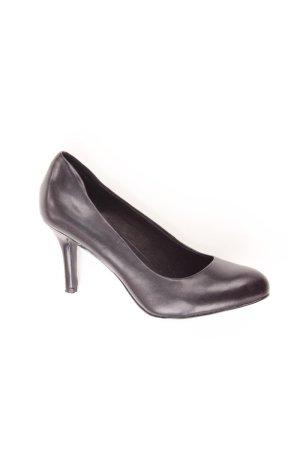5th Avenue Escarpins noir cuir