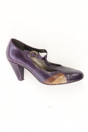 5th Avenue Tacones lila-malva-púrpura-violeta oscuro Cuero