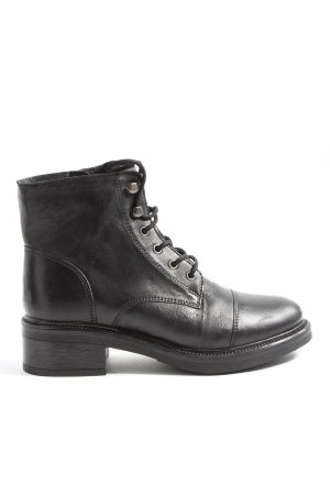 5th Avenue Reißverschluss-Stiefeletten schwarz Casual-Look