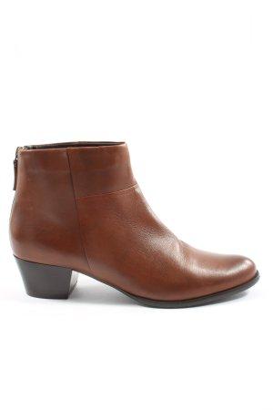 5th Avenue Stivaletto con zip marrone stile professionale