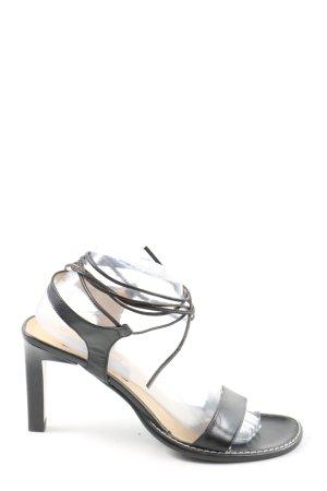 5th Avenue Riemchen-Sandaletten schwarz Casual-Look