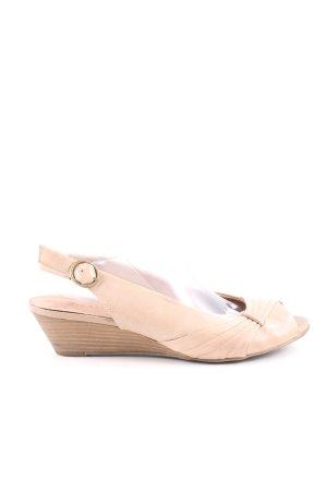 5th Avenue Riemchen-Sandaletten creme Casual-Look