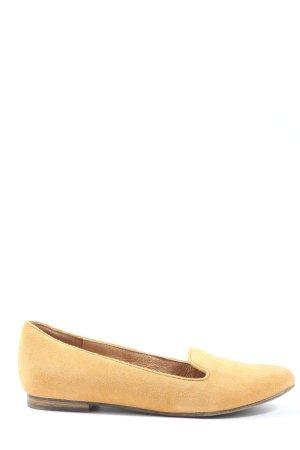 5th Avenue Slip-on Shoes light orange casual look