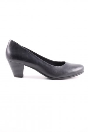 5th Avenue Slip-on Shoes black casual look