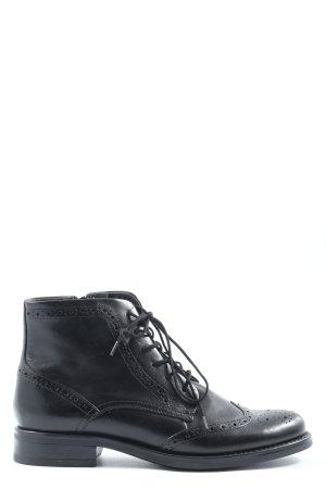 5th Avenue Stivaletto stringato nero elegante