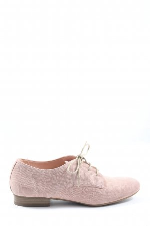5th Avenue Lace Shoes pink casual look