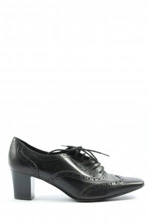 5th Avenue Lace Shoes black business style