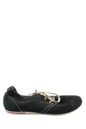 5th Avenue Sneaker stringata nero stile casual