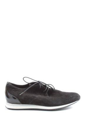5th Avenue Sneaker stringata nero-bianco stile casual