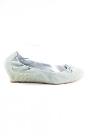 5th Avenue Slingback Ballerinas turquoise casual look