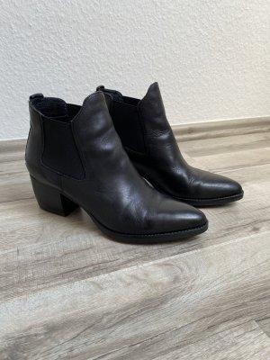 5th Avenue Botas deslizantes negro Cuero