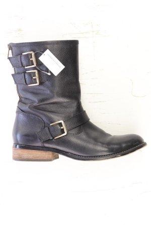 5TH AVENUE Stiefeletten Größe 40 schwarz aus Leder