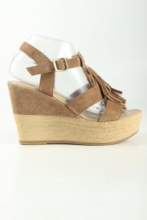 5th Avenue Wedges Sandaletten braun Casual-Look