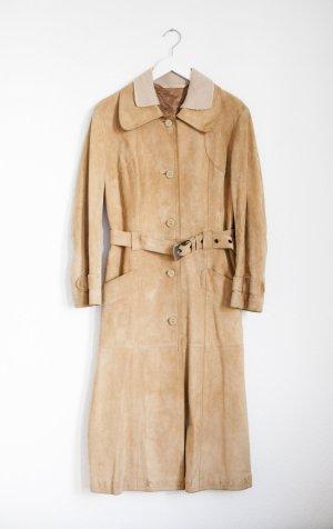 60er mantel beige true vintage